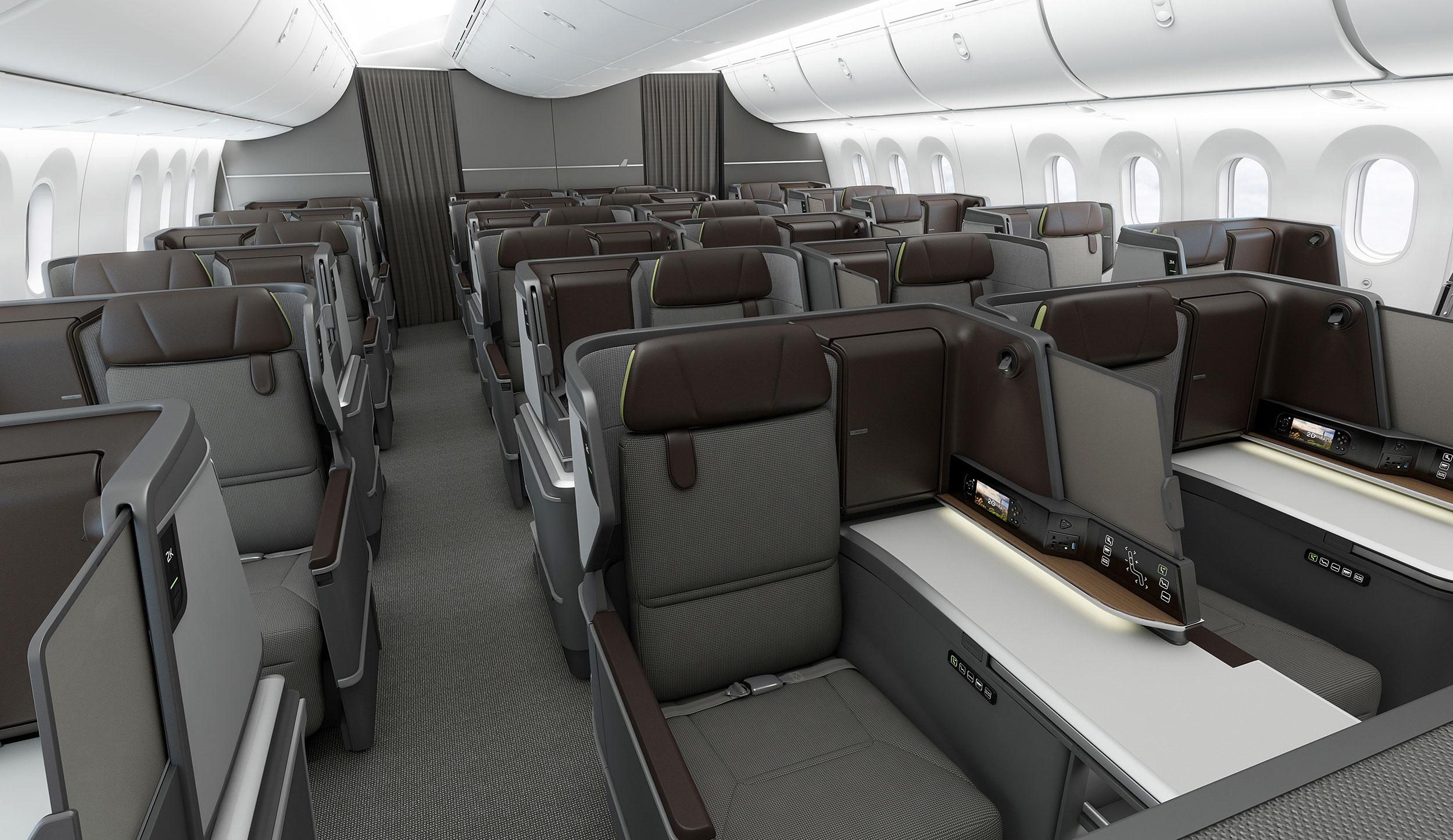 eva air cabin