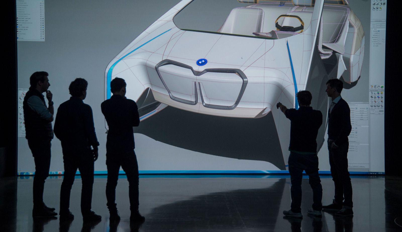 designers in front of inside future design