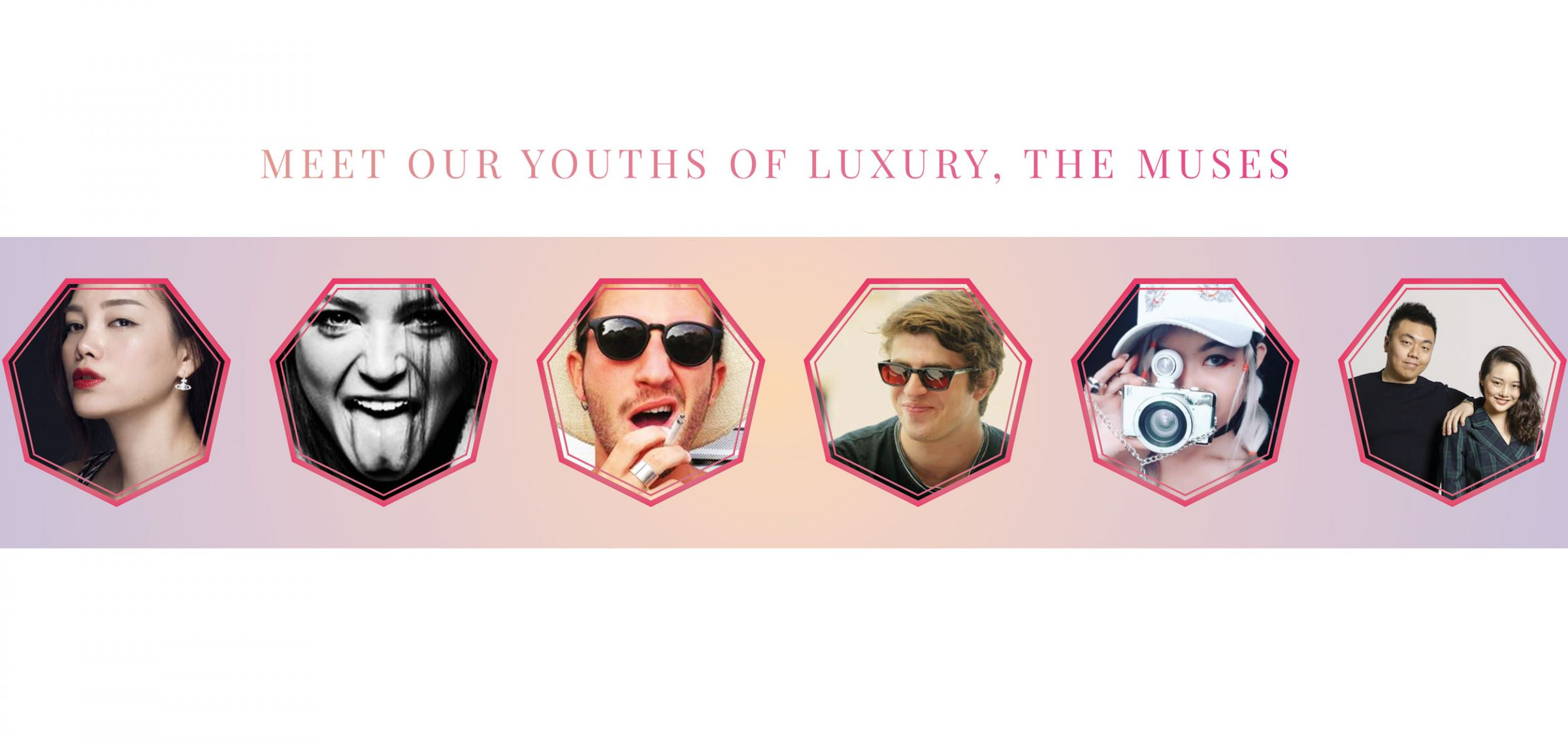 muses of youth of luxury
