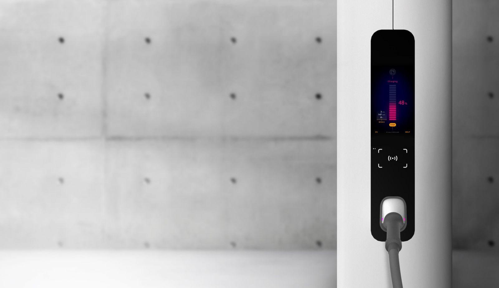 ionity charging station display