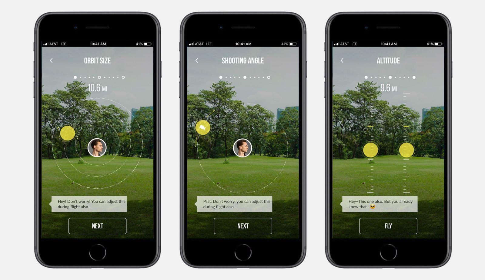 yuneec drone app screenshots