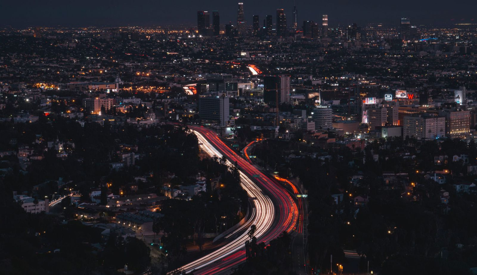 los angeles city traffic lights